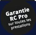Assurance RC Pro sur toutes nos prestations